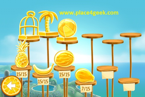 Tous les fruits Angry Birds RIO