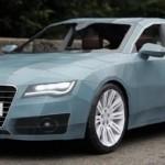 Audi A7 Papier