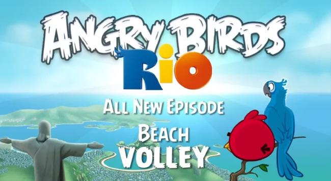 Angry Birds RIO Beach Volley