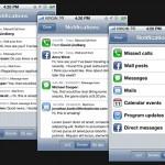 Un concept en vidéo pour améliorer les notifications sous iOS 5