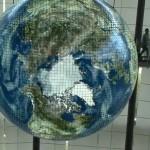 Un globe OLED géant