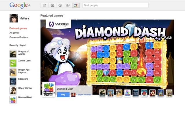 Les jeux sur Google+ sont (presque) arrivés !