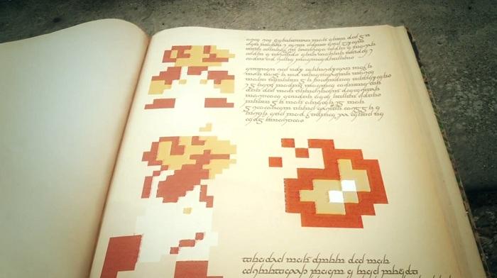 Freddie Wong se lance à la recherche de la fleur de feu du jeu Super Mario Bros