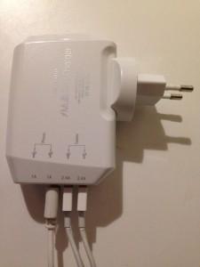 Test du Novodio Multi Fast Charger : un chargeur avec 4 ports USB + Concours
