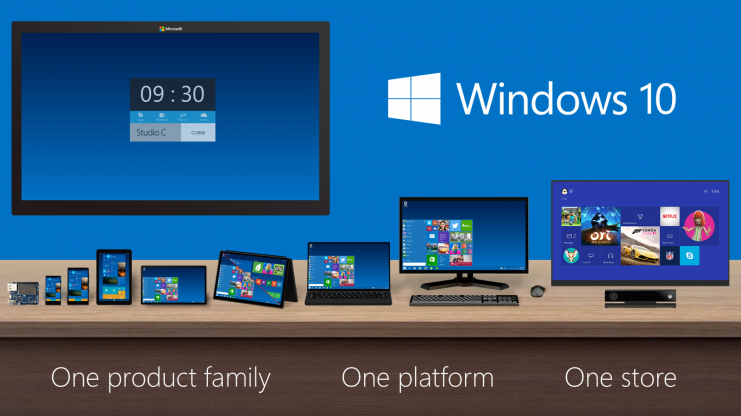 Slogan Windows 10