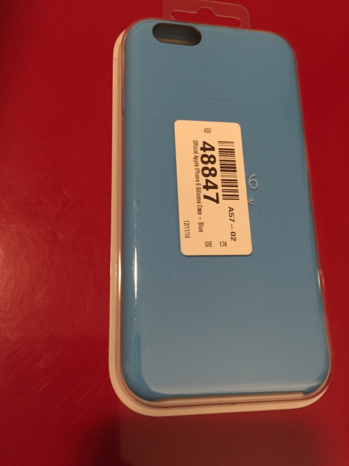 Coque Silicone Noir Iphone S