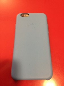 Test de la coque officielle Apple pour iPhone 6 en silicone