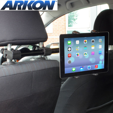 test du support appui t te voiture pour tablettes arkon. Black Bedroom Furniture Sets. Home Design Ideas