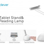 Test de la lampe de table pliable LED USB iClever