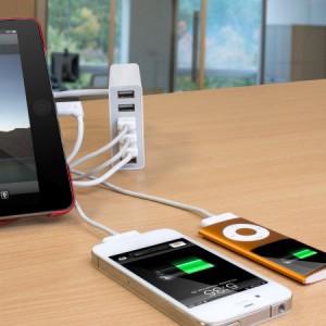Test du chargeur 6 ports USB d'Olixar