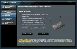Test du routeur wifi Asus RT-AC51U