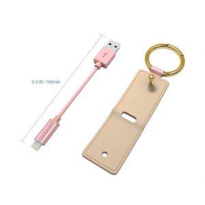 Test du porte clé 2 en 1 dodocool avec câble Lightning pour iPhone / iPad