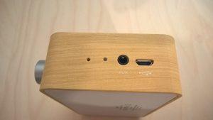 Test de l'enceinte Bluetooth Emie Vintage