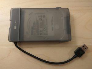 Test du Storeva Klik un boitier pour disque dur externe USB 3.0 sans vis !