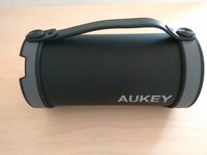 Test de l'enceinte Bluetooth portable Aukey SK-M18