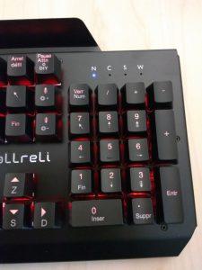 Test du clavier gaming mécanique d'aLLreLi