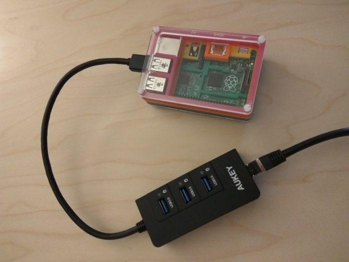 Améliorer la vitesse Ethernet d'un Raspberry Pi