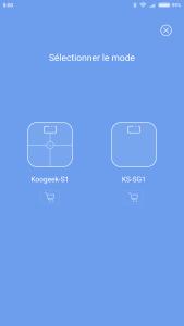 Test de la balance connectée Koogeek SG-1