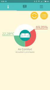 Test du capteur température et humidité KSIX Clima