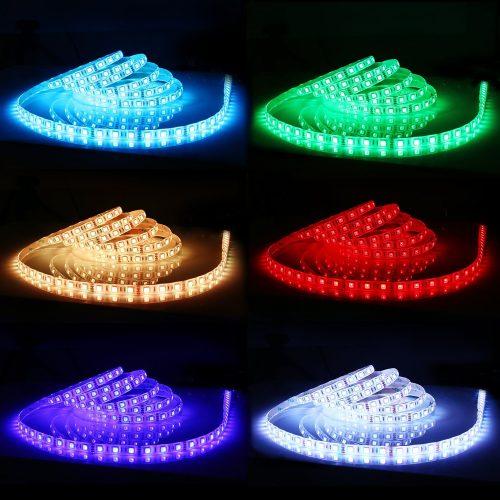 Test du ruban LED : 300LEDs SMD5050 de 5 mètres étanche d'AUKEY