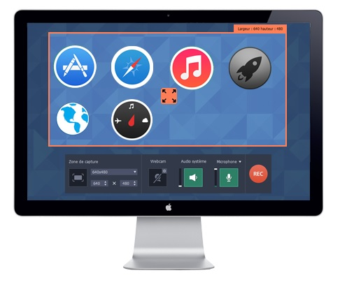 Movavi Screen Capture : le logiciel pour capturer une vidéo sur Mac