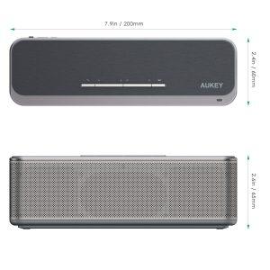 Test de l'enceinte Bluetooth Aukey SK-S1