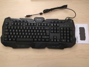 Test du clavier gaming USB aLLreLi K617