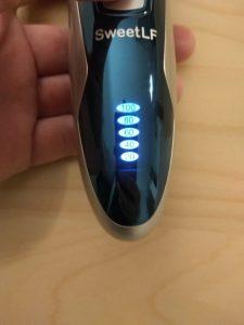 Test du rasoir électrique rechargeable SweetLF 3D