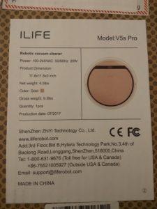 Test de l'aspirateur robot iLife V5S Pro