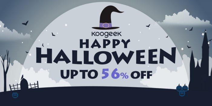 Codes promos Amazon jusqu'à 56% de remise sur des produits Koogeek